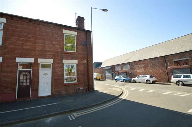 2 Bedrooms End Of Terrace House for sale in Harper Street, Edgeley, Stockport, Cheshire