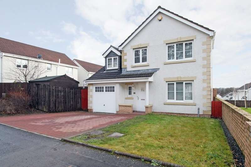 5 Bedrooms Detached House for sale in Singers Place, Dennyloanhead, Bonnybridge, FK4 1FD