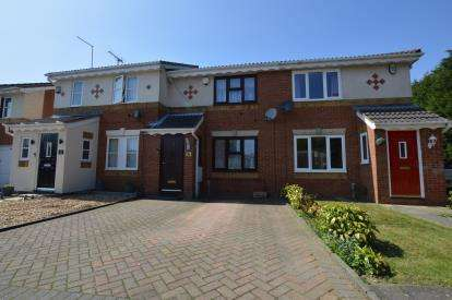 3 Bedrooms Terraced House for sale in Curlbrook Close, Wootton, Northampton, Northamptonshire