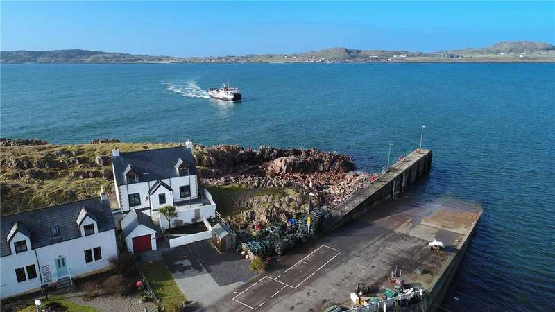 3 Bedrooms Unique Property for sale in Pier House, Fionnphort, Isle of Mull, PA66