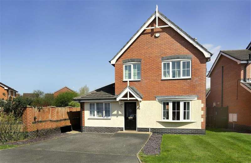 4 Bedrooms Detached House for sale in Garnett Close, Nantwich, Cheshire