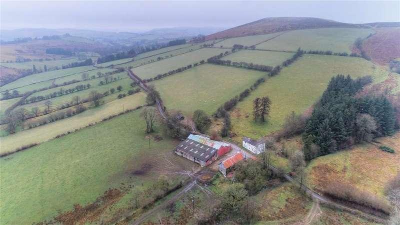 4 Bedrooms Farm Commercial for sale in Llanbister, Llandrindod Wells, Powys