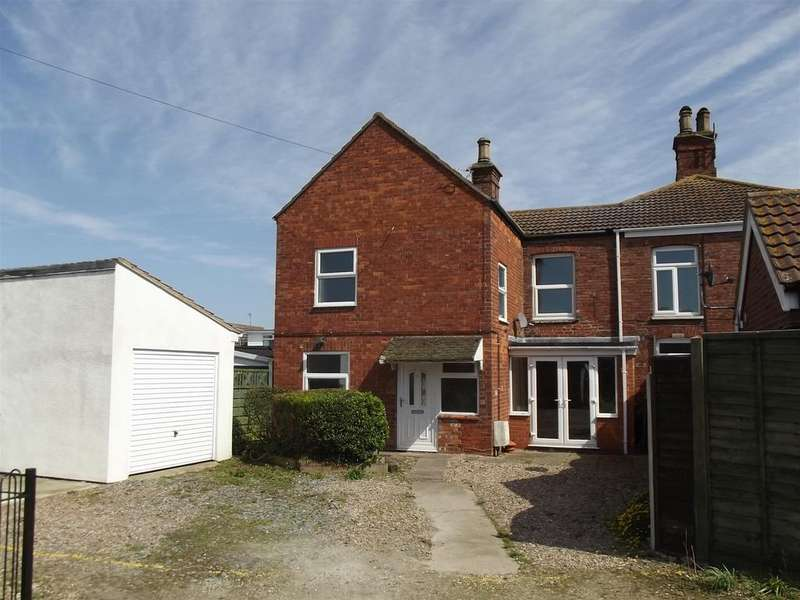3 Bedrooms Semi Detached House for sale in Alford Road, Sutton on Sea, Lincs., LN12