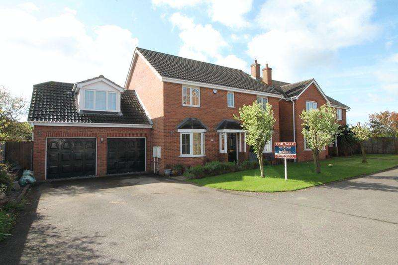 5 Bedrooms Detached House for sale in Shearers Drive, Spalding