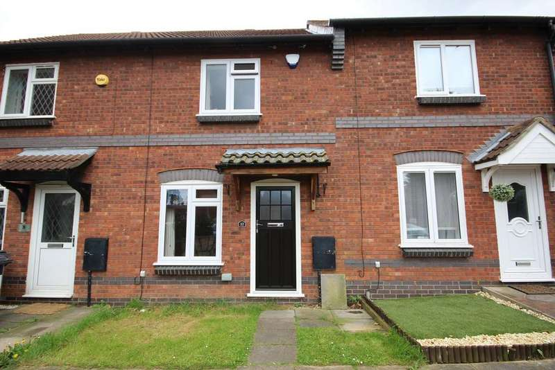 2 Bedrooms Terraced House for sale in The Pastures, Stewartby, Bedford, MK43