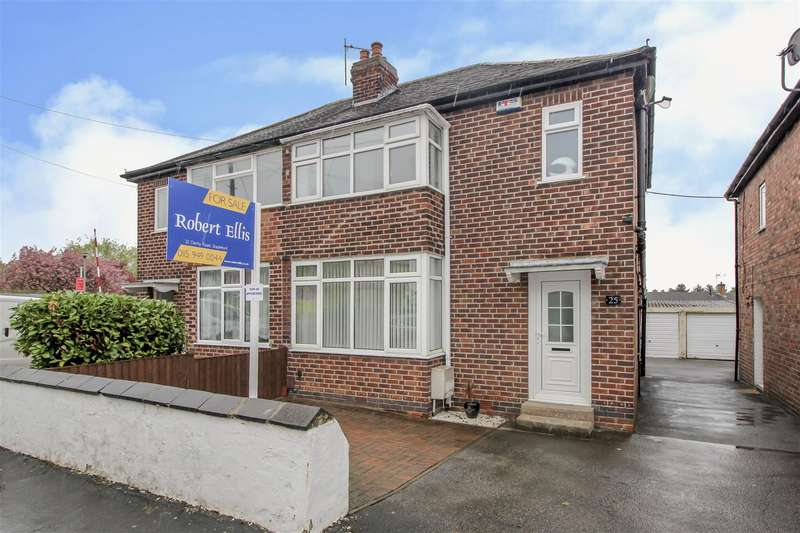 3 Bedrooms Semi Detached House for sale in Nursery Avenue, Sandiacre