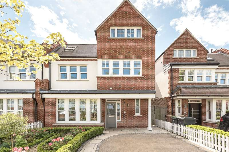 6 Bedrooms Semi Detached House for sale in Woodland Terrace, Twyford Avenue, London, N2