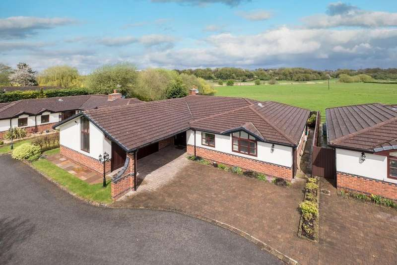 4 Bedrooms Detached Bungalow for sale in Sandy Lane, Weaverham, Northwich, CW8