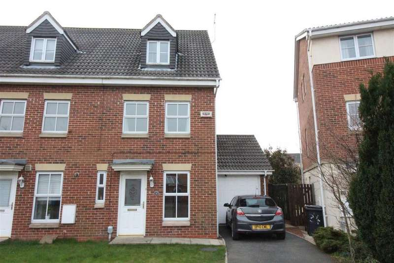 3 Bedrooms End Of Terrace House for sale in Philip Larkin Close, Hull