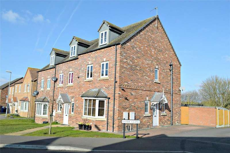4 Bedrooms End Of Terrace House for sale in Syfer Close, Caistor, Market Rasen, Lincolnshire, LN7