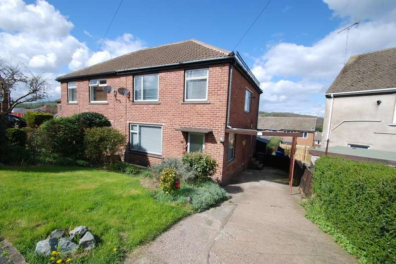 3 Bedrooms Semi Detached House for sale in Hillcrest Rise Deepcar Sheffield