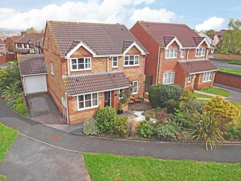 4 Bedrooms Detached House for sale in Walnut Close, Exminster