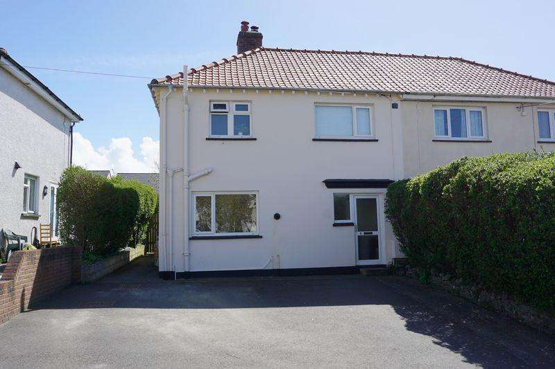 3 Bedrooms Semi Detached House for sale in Coast View, Bude