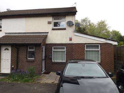 2 Bedrooms Semi Detached House for sale in Foxley Walk, Manchester, Greater Manchester, Uk