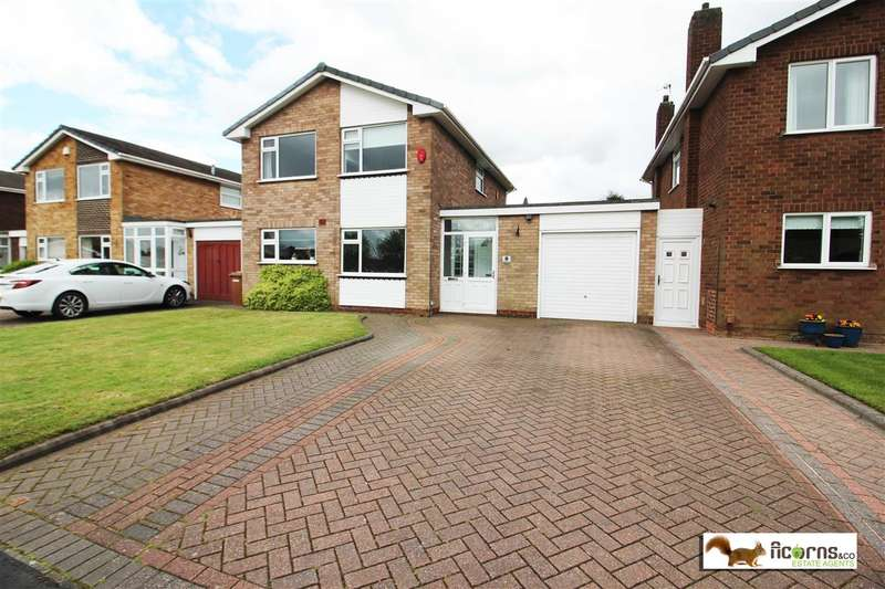 3 Bedrooms Detached House for sale in Rushall Manor Close, Walsall