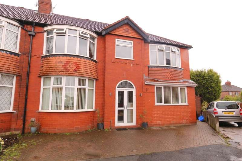 4 Bedrooms Semi Detached House for sale in Linton Avenue, Denton, Manchester, M34