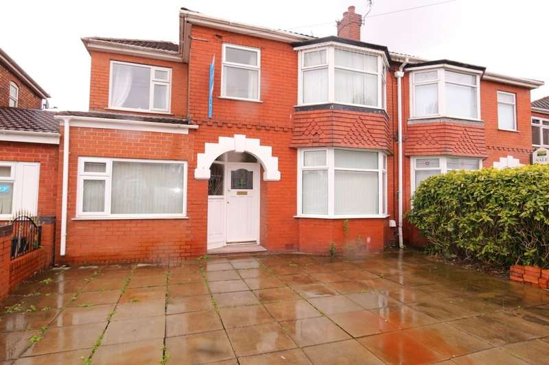 5 Bedrooms Semi Detached House for sale in Dorlan Avenue, Manchester, M18