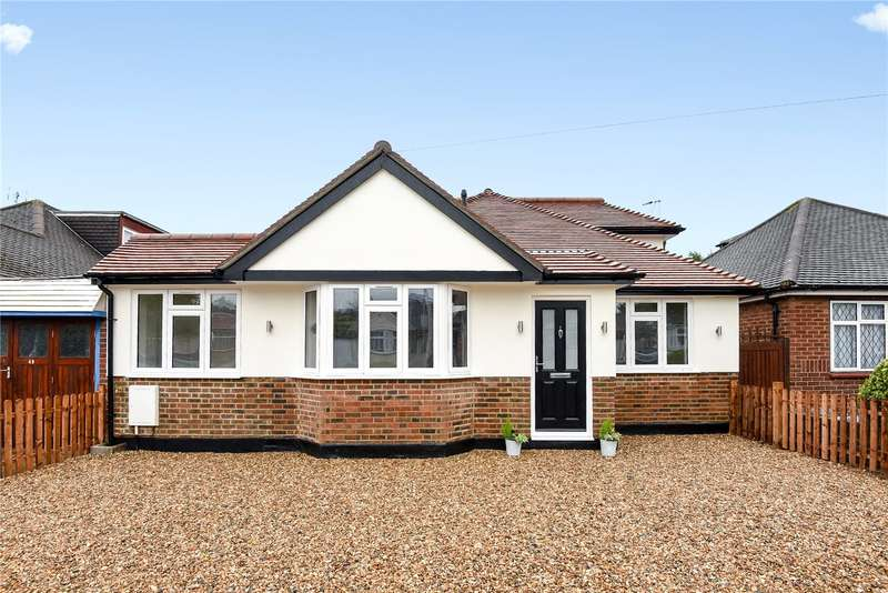 4 Bedrooms Detached Bungalow for sale in Herlwyn Avenue, Ruislip, Middlesex, HA4