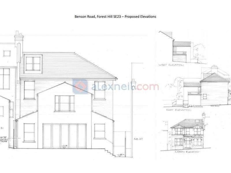 5 Bedrooms Land Commercial for sale in Benson Road, Forest Hill SE23