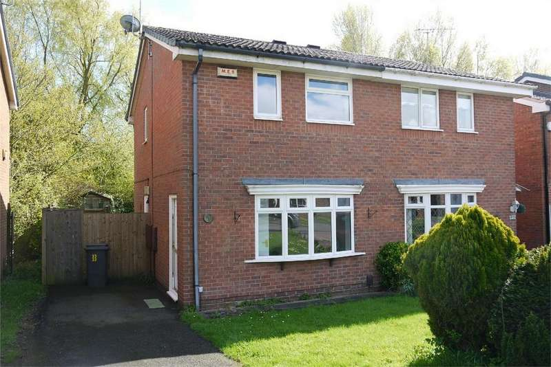 2 Bedrooms Semi Detached House for rent in Launceston Drive, Horeston Grange, NUNEATON, Warwickshire