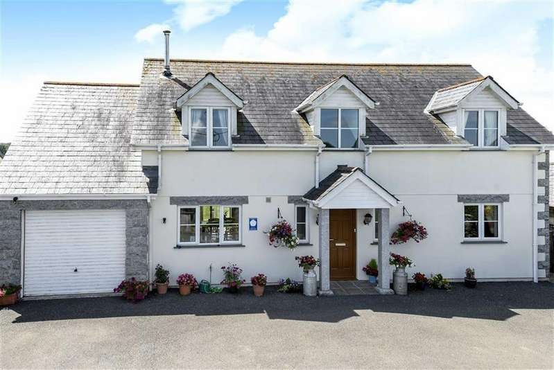 4 Bedrooms Detached House for sale in Burlawn, Wadebridge, Cornwall, PL27