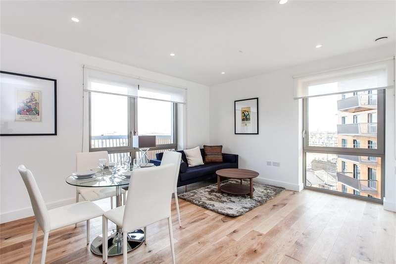 2 Bedrooms Flat for sale in Rathbone Market, Barking Road, London, E16