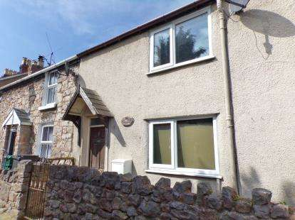 2 Bedrooms End Of Terrace House for sale in Rose Hill, Old Colwyn, Conwy, North Wales, LL29