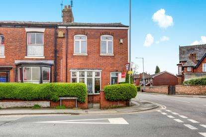 3 Bedrooms Semi Detached House for sale in Adswood Lane East, Cale Green, Stockport, Cheshire