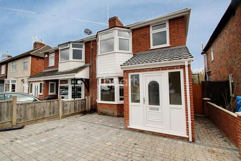 3 Bedrooms Semi Detached House for sale in Heyworth Road, Rowley Fields, Leicester