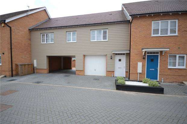 2 Bedrooms Maisonette Flat for sale in Foxglove, Woodley, Reading