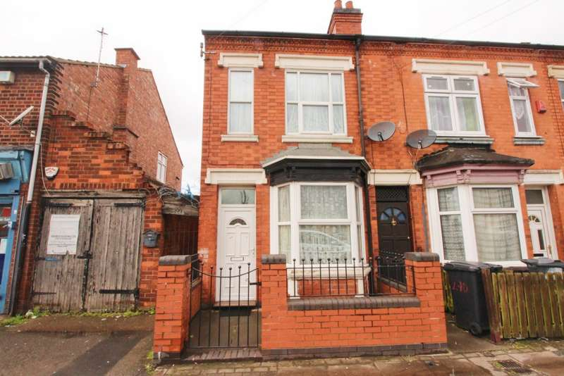 3 Bedrooms End Of Terrace House for sale in Victoria Road East, Leicester, LE5