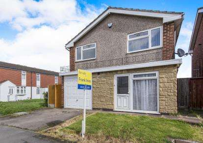 3 Bedrooms Detached House for sale in Peebles Way, Rushey Mead, Leicester, Leicestershire