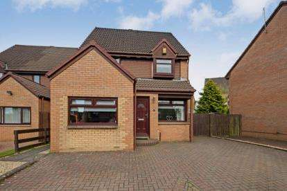 3 Bedrooms Detached House for sale in Micklehouse Place, Baillieston, Glasgow, Lanarkshire