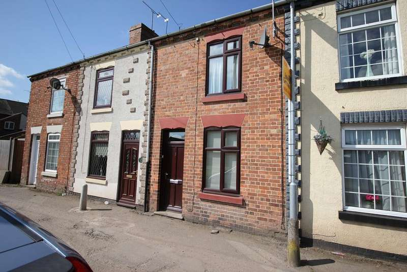 2 Bedrooms Terraced House for sale in Burton Road, Ashby-de-la-Zouch