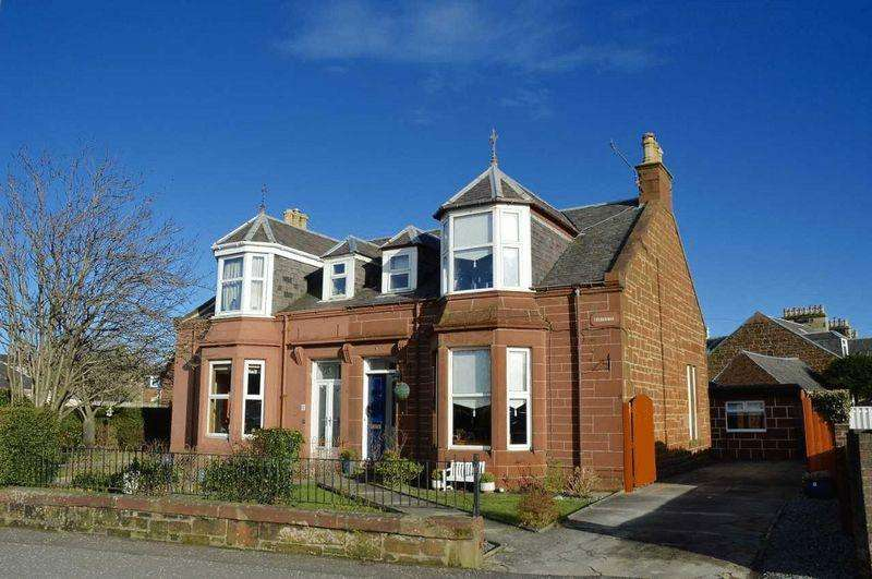 4 Bedrooms Semi-detached Villa House for sale in Castlehill Road, Ayr
