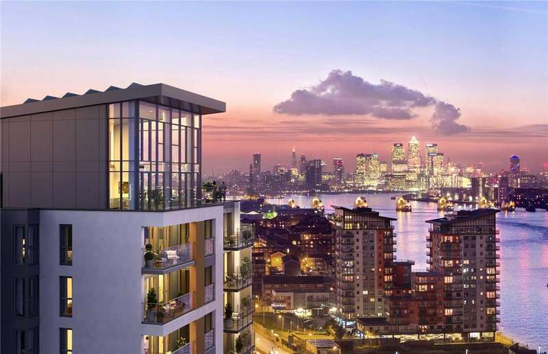 1 Bedroom Flat for sale in Callis Yard, Woolwich, SE18