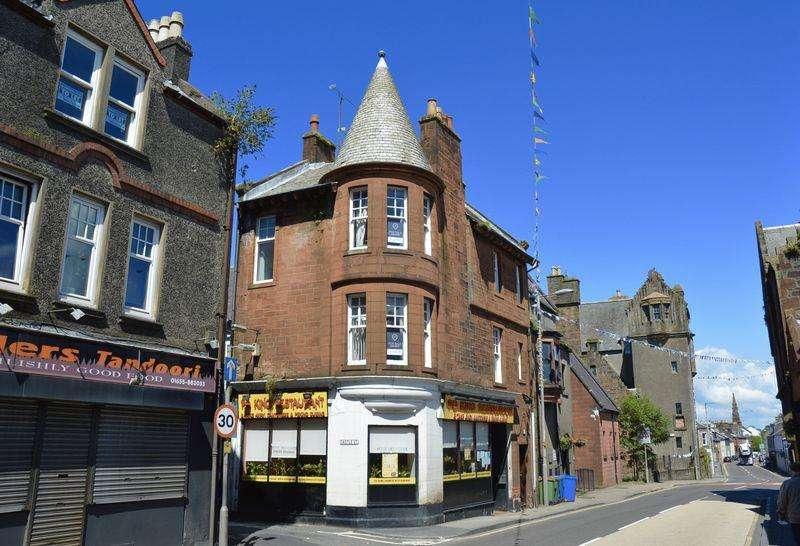 2 Bedrooms Flat for sale in High Street, Maybole