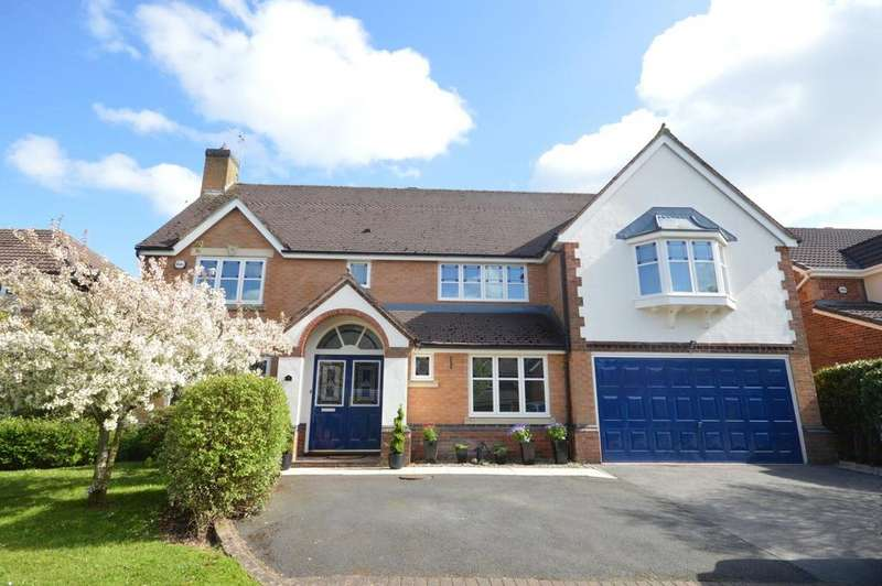 5 Bedrooms Detached House for sale in Dashwood Close, Grappenhall Heys