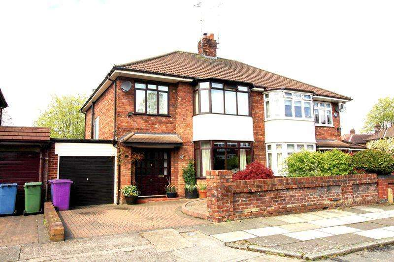 3 Bedrooms Semi Detached House for sale in Fawley Road, Liverpool