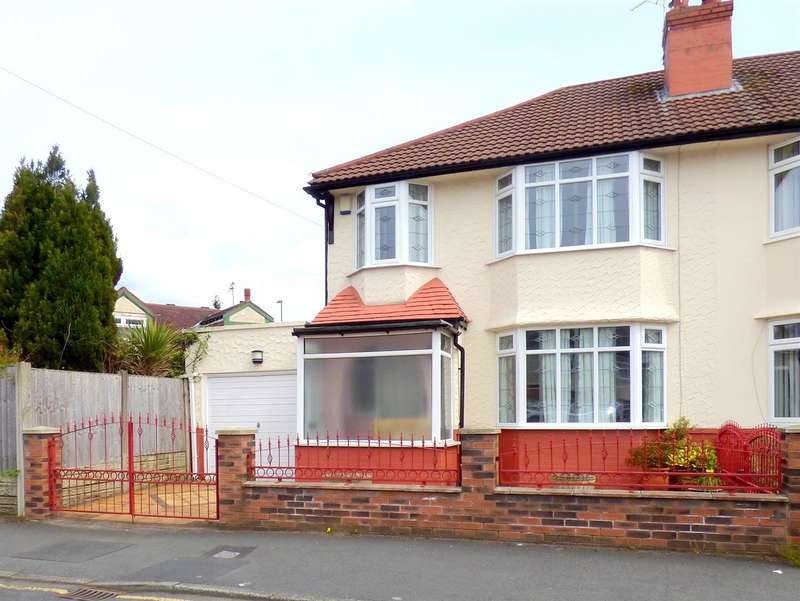 3 Bedrooms Semi Detached House for sale in Ruskin Way, Huyton, Liverpool
