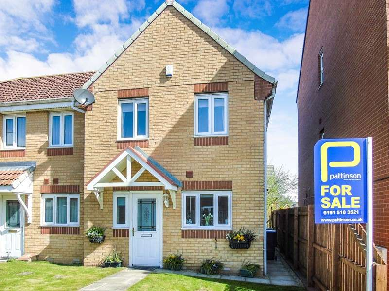 3 Bedrooms Property for sale in Sandford Close, Wingate, Wingate, Durham, TS28 5FD