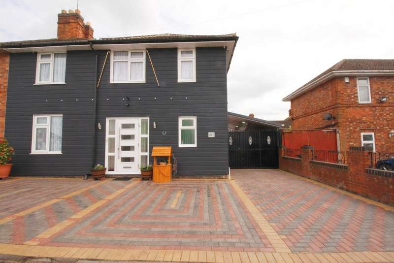 5 Bedrooms Semi Detached House for sale in Green Lane Road, Leicester, LE5