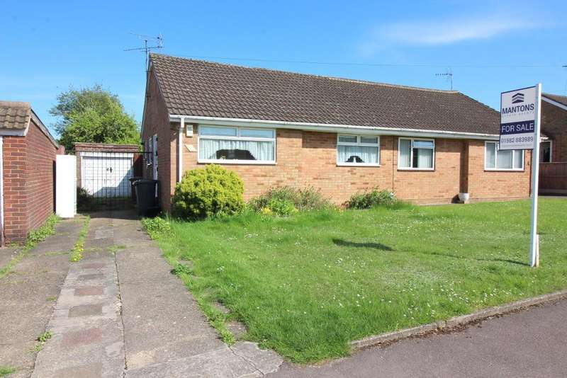 2 Bedrooms Bungalow for sale in Bakewell Close, Luton, Bedfordshire, LU4 0DQ