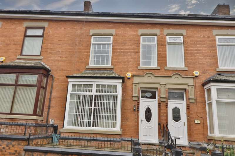4 Bedrooms Terraced House for sale in Waterloo Street, Oldham, Greater Manchester, OL4
