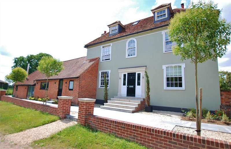 5 Bedrooms Detached House for sale in Tey Road, Coggeshall, Essex