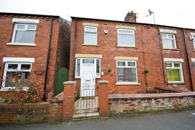 3 Bedrooms End Of Terrace House for sale in Birch Street, Springfield, Wigan, WN6