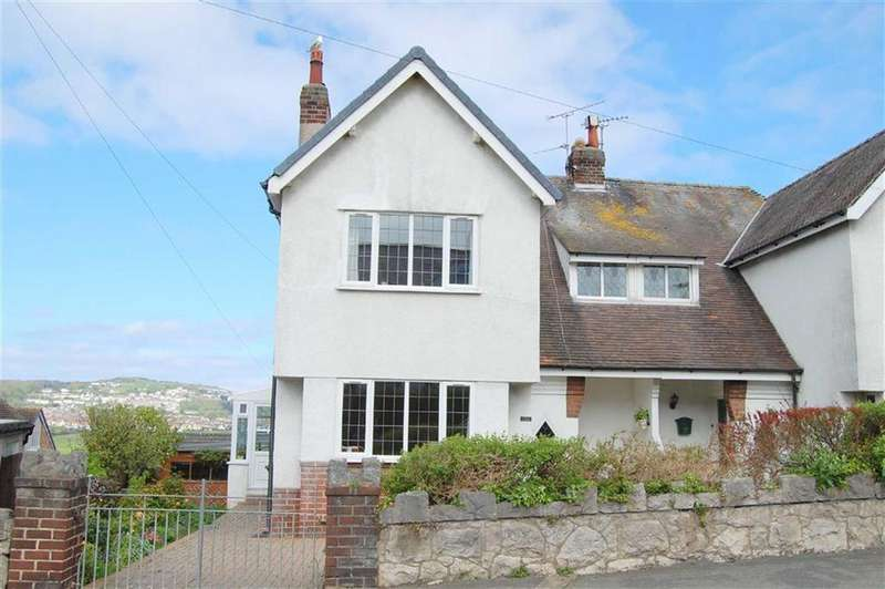 3 Bedrooms Semi Detached House for sale in Dinerth Road, Rhos On Sea, Colwyn Bay