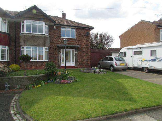 3 Bedrooms Semi Detached House for sale in WARWICK GROVE, PARK ROAD, HARTLEPOOL