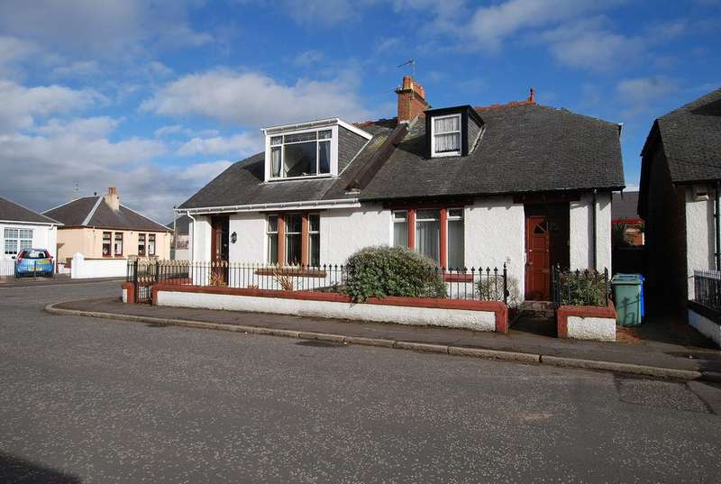 2 Bedrooms Semi Detached Bungalow for sale in 6 Englewood Avenue, AYR, KA8 9EF