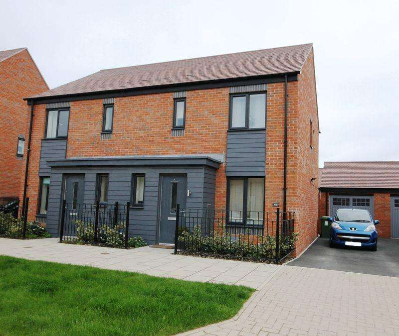 3 Bedrooms Semi Detached House for rent in Birchfield Way, Lawley, Telford